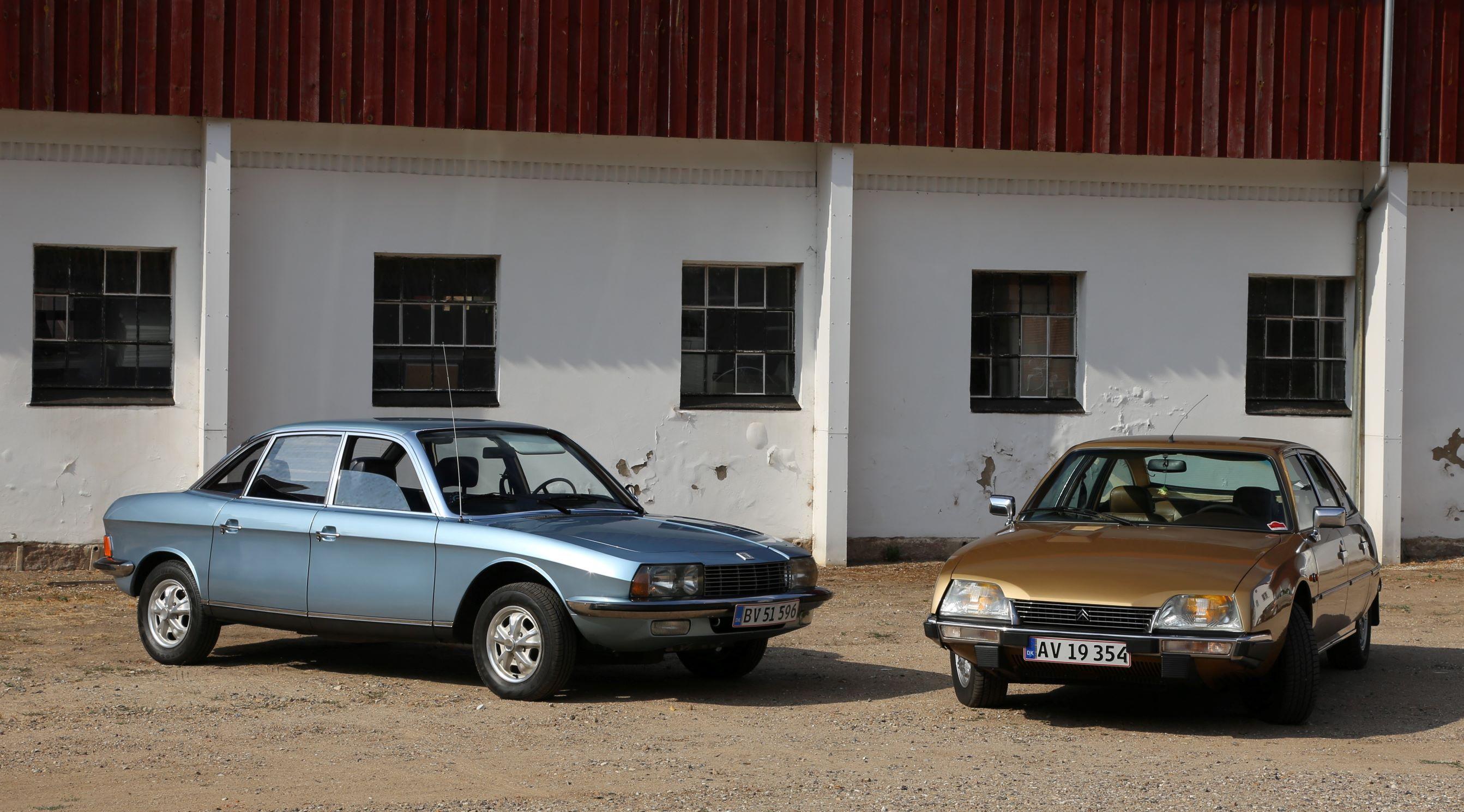 NSU RO80 og Citroen CX